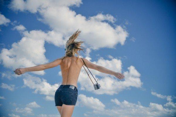 Protege tu piel del sol con rayos UVA