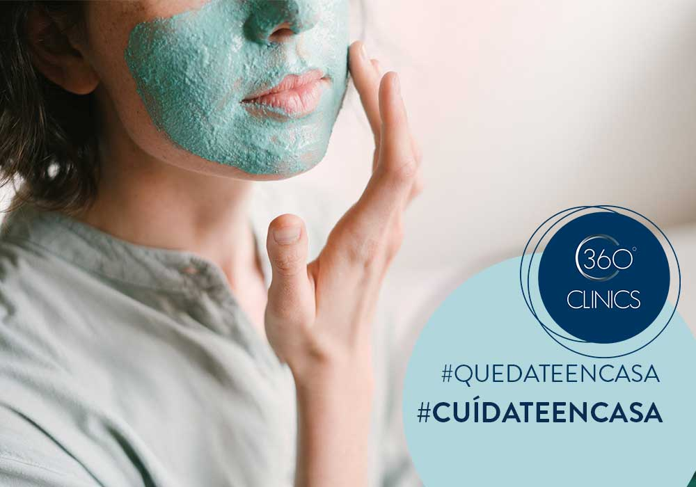 limpieza facial en casa express. CUIDARTE SIN SALIR DE CASA. trucos de belleza caseros 1/5.