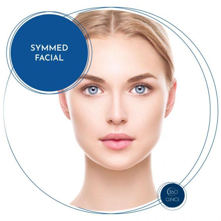 Symmed facial por radiofrecuencia combinada