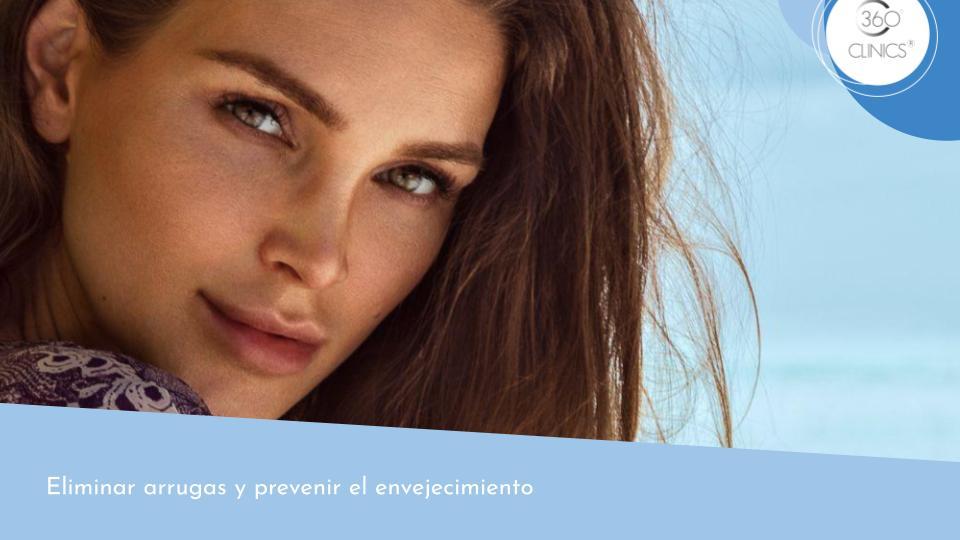 Elimina arrugas y previene el envejecimiento