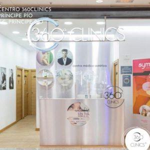 Centro de medicina estética en Príncipe Pío, Madrid. 360CLINICS